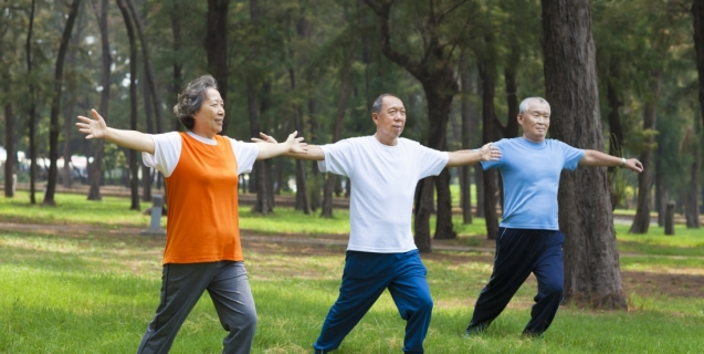 Simple Stretching Techniques for the Elderly